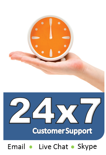 Customer Suppor 24x7
