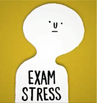 Exam stress can be controlled